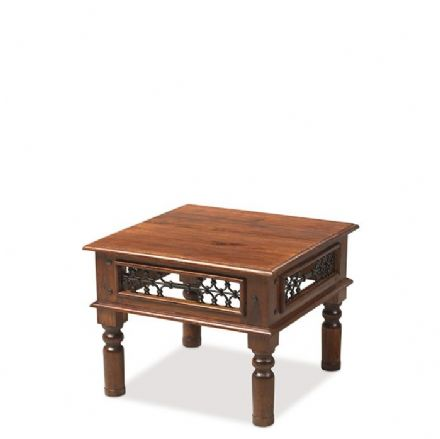 Jali Sheesham Wood Small Coffee Table
